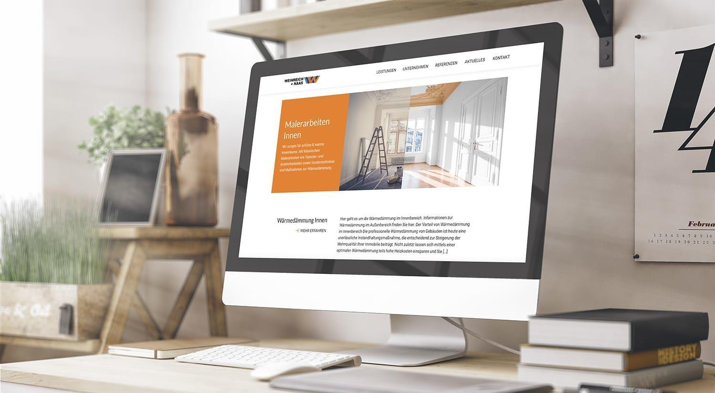 Neue Website von Weinreich + Haas